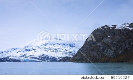 阿拉斯加,冰川,國家公園,アラスカ、氷河、国立公園、Alaska, glacier,  69316327