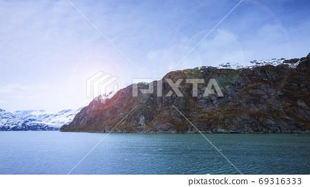 阿拉斯加,冰川,國家公園,アラスカ、氷河、国立公園、Alaska, glacier,  69316333