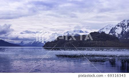 阿拉斯加,冰川,國家公園,アラスカ、氷河、国立公園、Alaska, glacier,  69316343