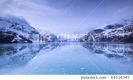 阿拉斯加,冰川,國家公園,アラスカ、氷河、国立公園、Alaska, glacier,  69316345