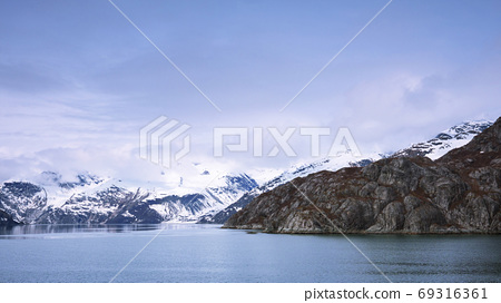 阿拉斯加,冰川,國家公園,アラスカ、氷河、国立公園、Alaska, glacier,  69316361