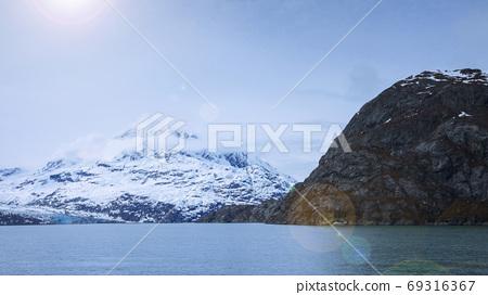 阿拉斯加,冰川,國家公園,アラスカ、氷河、国立公園、Alaska, glacier,  69316367