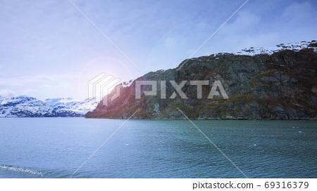 阿拉斯加,冰川,國家公園,アラスカ、氷河、国立公園、Alaska, glacier,  69316379