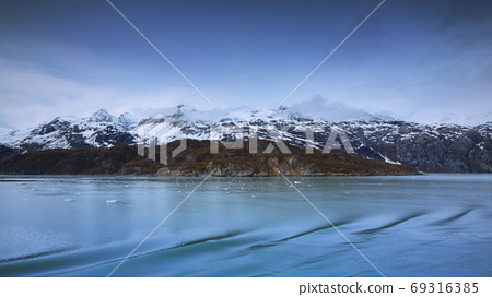 阿拉斯加,冰川,國家公園,アラスカ、氷河、国立公園、Alaska, glacier,  69316385