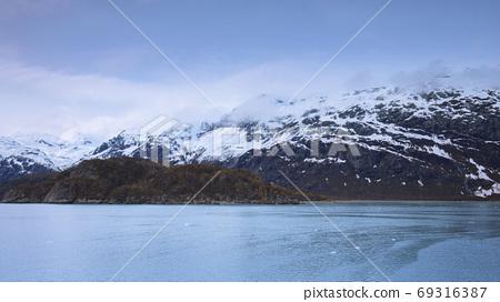 阿拉斯加,冰川,國家公園,アラスカ、氷河、国立公園、Alaska, glacier,  69316387