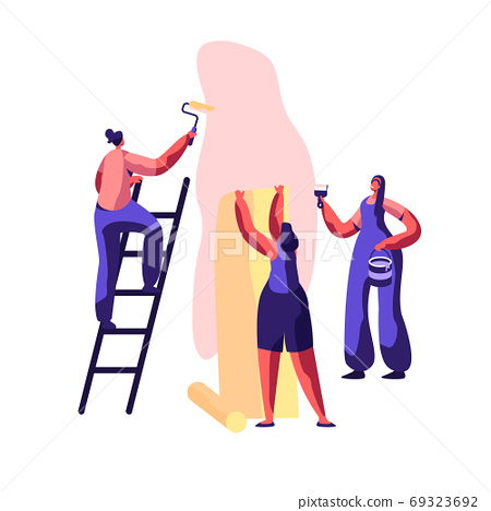 Repair Service Professional Worker for Renovation 69323692