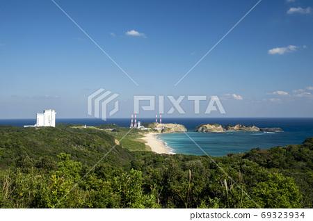 鹿兒島縣田島市田島航天中心火箭山天文台的景色 69323934