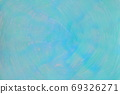 Abstract background blue / green vortex-like hand-painted 69326271