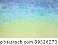 Abstract background, bluish gradation, uneven surface 69326273