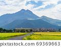 汤布岳和汤布院的田园风光[9月] 69369663