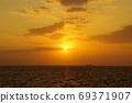 Clouds and sunrises 69371907
