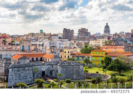 Havana, Cuba Town Cityscape 69372575