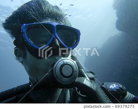 Scuba diving Izu Oshima 69379275