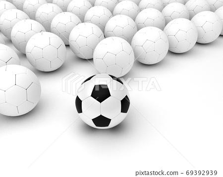 Different Soccer Balls 69392939