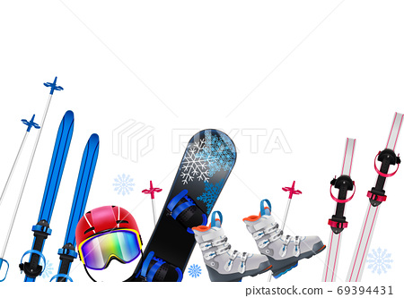 Sports Equipment Realistic Composition 69394431