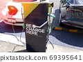Electric car charging station in New Zealand 69395641