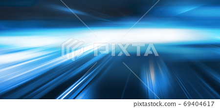 Abstract blue speed movement background 69404617