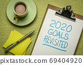2020 goals revisited - change of business and personal plans 69404920