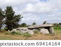 Dolmen - gallery grave of Ile Grande, Brittany, France 69414164