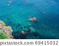 Shakotan Sea, Hokkaido (Shakotan Town, Hokkaido) 69415032