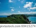 Scenery of Cape Kamui on the Shakotan Peninsula (Shakotan Town, Hokkaido) 69415274