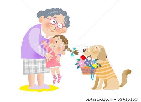 할머니 사랑 69416165