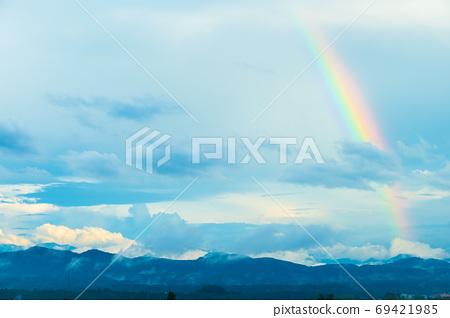 石川縣野美市的彩虹 69421985
