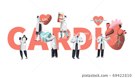 Medical Cardiology Worker Care Heart Health 69422810