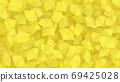 깔린 은행잎 69425028