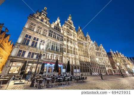 Antwerp, Belgium Cityscape 69425931