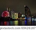 横滨夜景,摩天轮,洲际酒店,建筑物 69426187