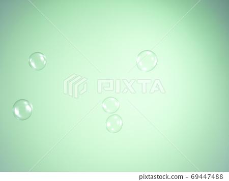 녹색 배경의 D 옥 69447488