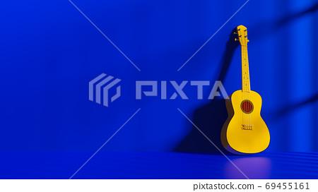 Yellow Ukulele 69455161