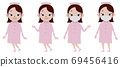 Nurse whole body set 69456416