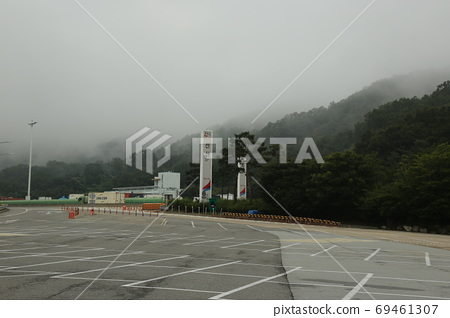 Rest area, Seonsan, Lake, Rest 69461307