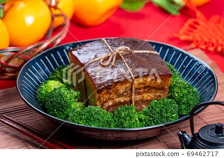 東坡肉 年菜 滷肉 控肉 魯肉 Dongpo Pork Braised Pork トンポーロー 69462717