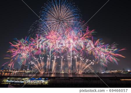 [오사카] 나니와 요도가와 불꽃 놀이 69466057
