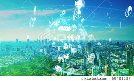 城市環境與技術CG動畫的時間流逝 69481287