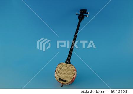 Okinawan musical instrument Sanshin 69484033
