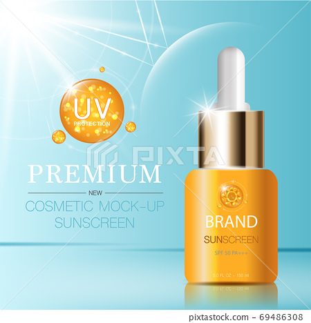 Hydrating facial serum for annual sale. 69486308