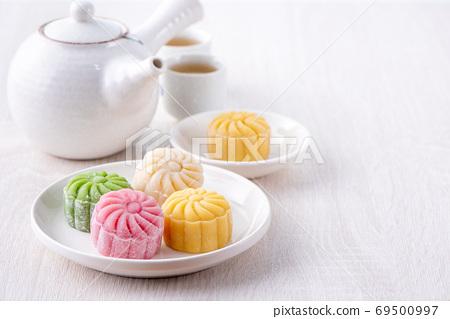 冰皮月餅 月餅 中秋節 Snow skin moon cake mooncake げっぺい 十五夜 69500997