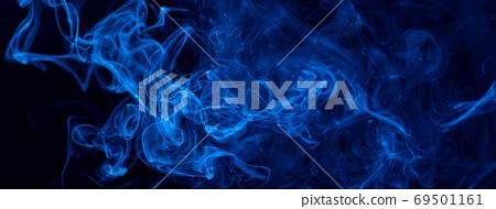 煙 藍色 背景 萬聖節 smoke background Halloween 煙 けむり バック 69501161