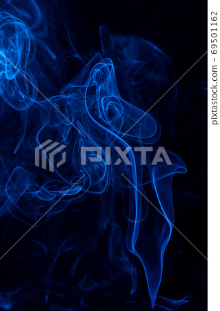 煙 藍色 背景 萬聖節 smoke background Halloween 煙 けむり バック 69501162