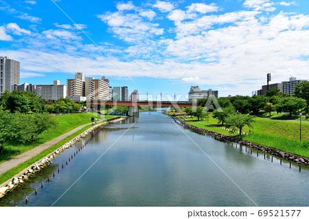 前中川的下游,總武本線附近 69521577