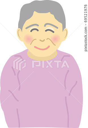 Senior woman with a smile 69521976