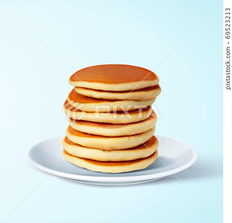 Fluffy pancake element 69523213