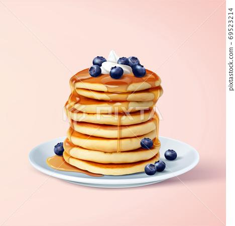 Fluffy pancake element 69523214