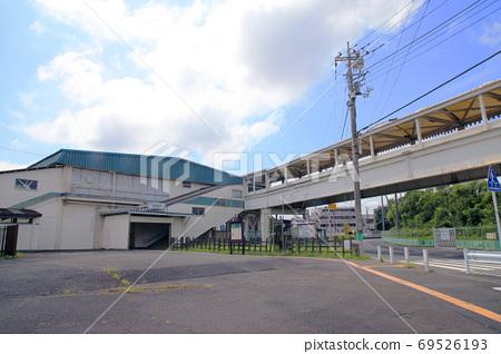 西武鐵路多摩川線船賽馬場前站 69526193