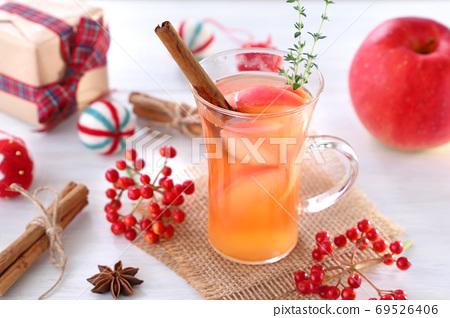 크리스마스 몰드 와인 뜨거운 와인 69526406