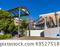 요코하마 운하 파크에 건설중인 로프웨이 승강장 69527518